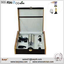 2014 new products wine opener set fashionable promotional gifts
