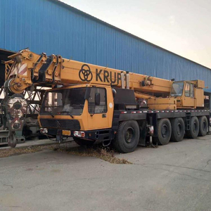 large crane in used condition, 100T 200t krupp rmt mobile crane Made in 1994year original germany crane krupp 100t 200t