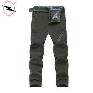 Elastic waist casual mens autumn winter baggy chino trousers pants
