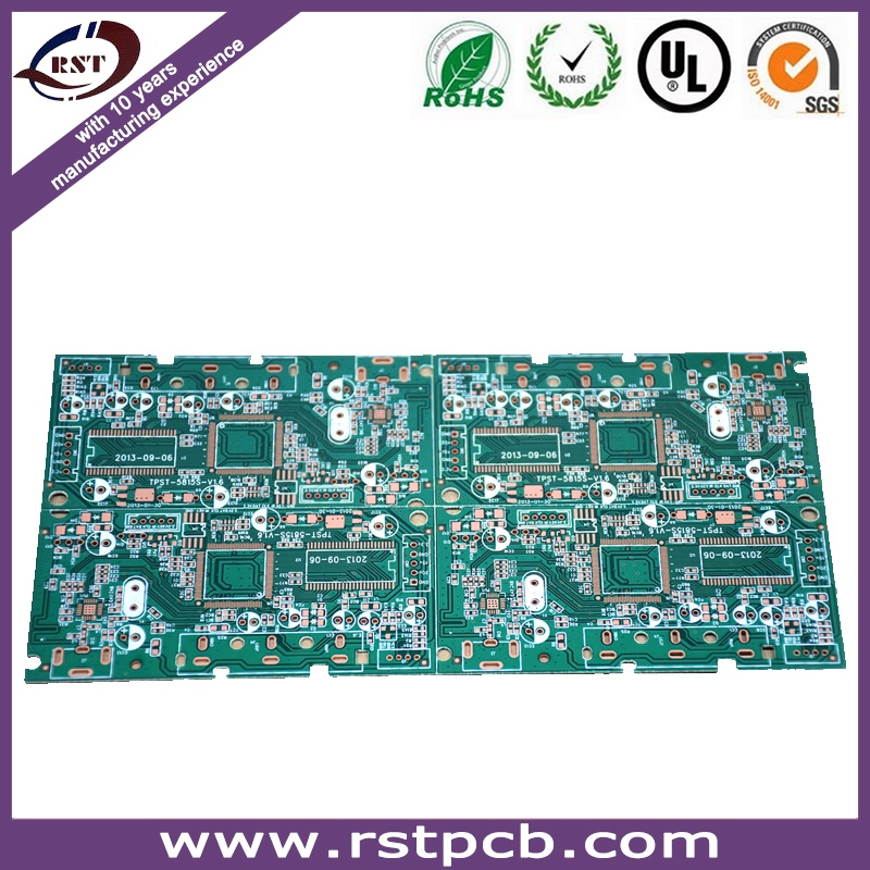 Professional HASL led light pcb board design for AV speaker