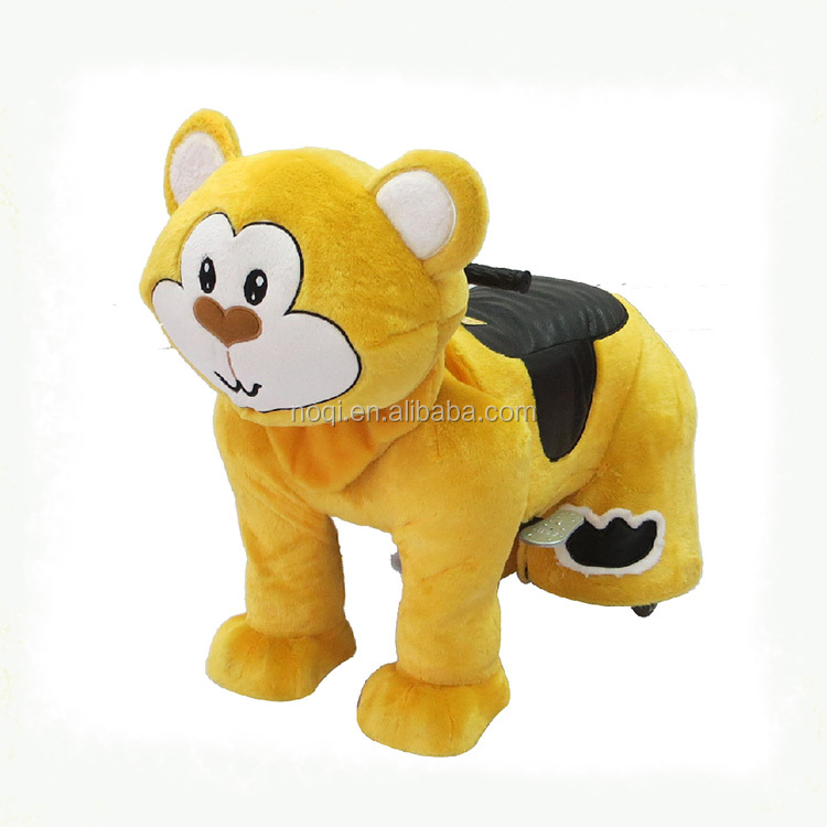 Children amusement kiddie ride walking sale zoo animal for mall