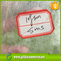 Best Price SMS Nonwoven Surgical Gown for Doctor/SMMS non-woven fabric/Breathable antibacterial sms nonwovens