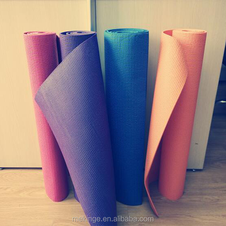 Best exercise accessories eco friendly pvc yoga mat for gym