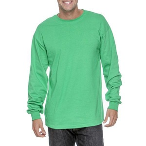 crew neck rib collar promotional t shirts