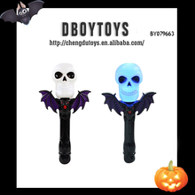 Halloween party bar plastic skull light with bat wing