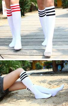 74863db56 four season suitable socks girl student school fashion cotton knee high socks  over the knee sports