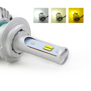 3 Colors in 1 (6000K/3000K/4500K) Car Led Headlight Bulbs H7 Conversion Kit with 18months Year Warranty