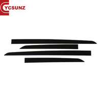 YCSUNZ Innova part ABS Black side door Body Trim For Innova 2016