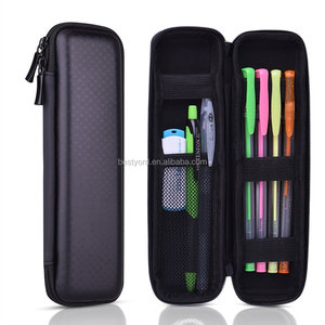 Black Hard Pencil Case Hard Shell Pen Case Holder for Executive Fountain Pen