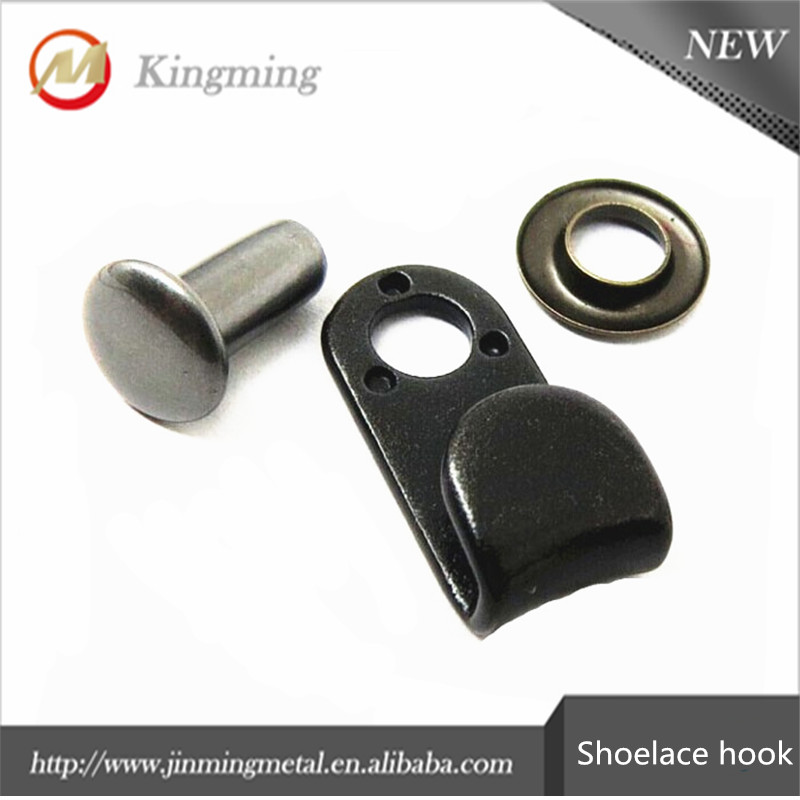 High Quality 17mm Climbing Boot Metal Shoe Laces Hooks