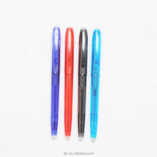 Long writing length ballpoint pen eraser with 0.7mm metal tip
