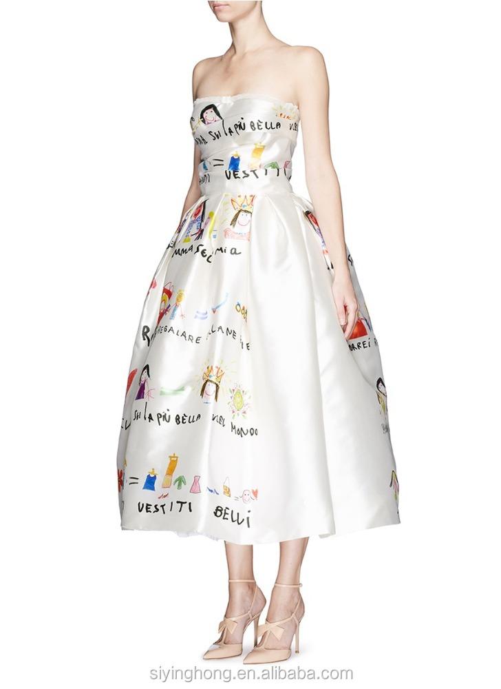 прямое платье на бретельках выкройка