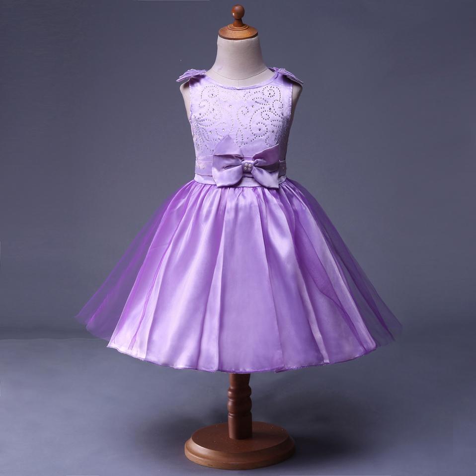 Venta al por mayor vestidos de niñas para graduacion-Compre online ...
