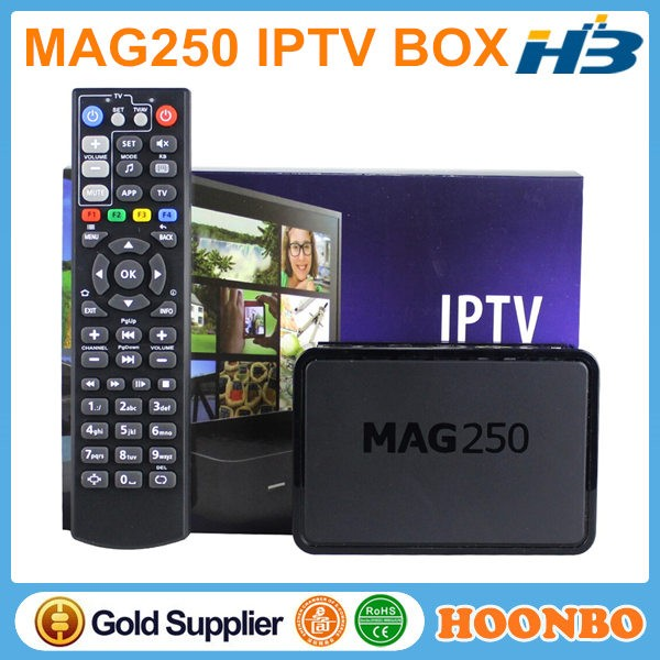 Good Price IPTV Linux 2.6.23 MAG 250 IPTV BOX Best Arabic Indian 500+ Channels World Internet TV