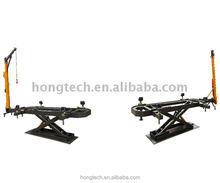 CE Mini car chassis bench/ scissor car body bench