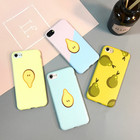 Cheap Price Lovely Snow Pear Cartoon Pattern Full Cover Silicone Phone Case for iPhone 7/7 Plus