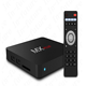 Orginal rooted mx plus amlogic s905 real 4k qnet iptv arabic iptv box smart android tv box