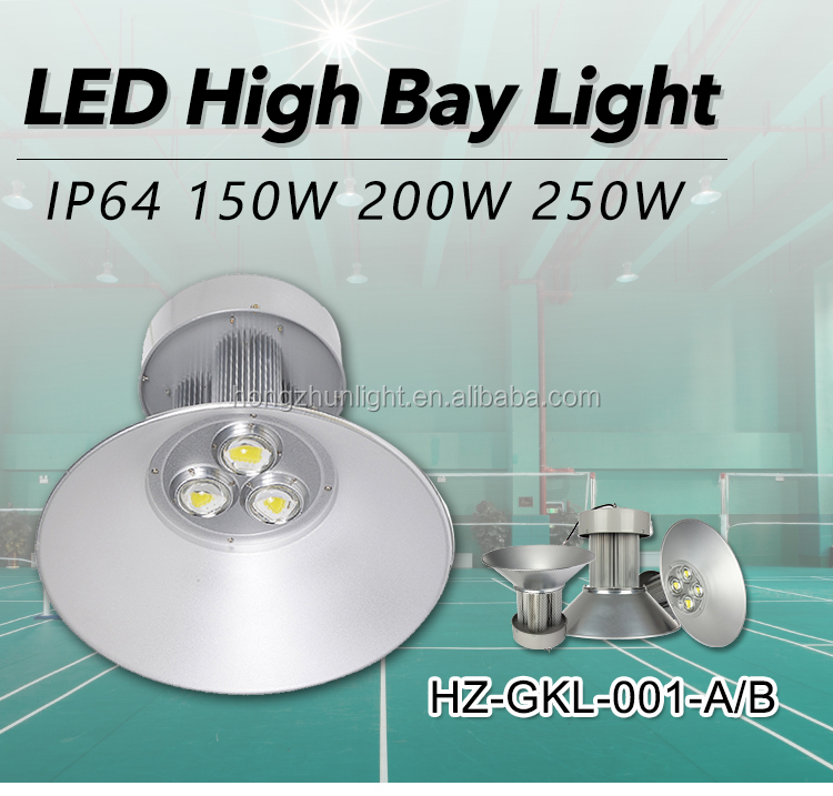 Industrial Lighting ip54 Epistar cob indoor Aluminum Alloy 100W 120W 150W 200W LED High Bay Light