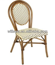 OTA-1001,Aluminum Bamboo Garden Chair/Rattan Bamboo Chair/aluminum bamboo wicker chair