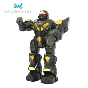 China Black Abs Cartoon Diy Children Robotic Arm In Robot Toy For