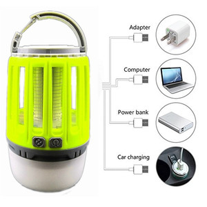5V Ultimate Bug Zapper Lamp Lightweight & Efficient Insect Fly Killer  2-In-1 Portable Mosquito Eliminator & Camping Lantern
