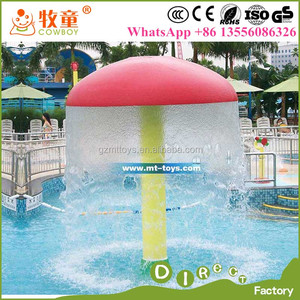WWP-301C Fiberglass Spray Equipment Water Spray Mushroom Umbrella Water Mushroom for Swimming Pool
