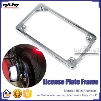 Bj-lpl294-001 Motorbike License Plate Frames Bracket For Suzuki ...