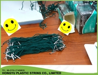 low price braided shopping bags nylon handle rope with metal head