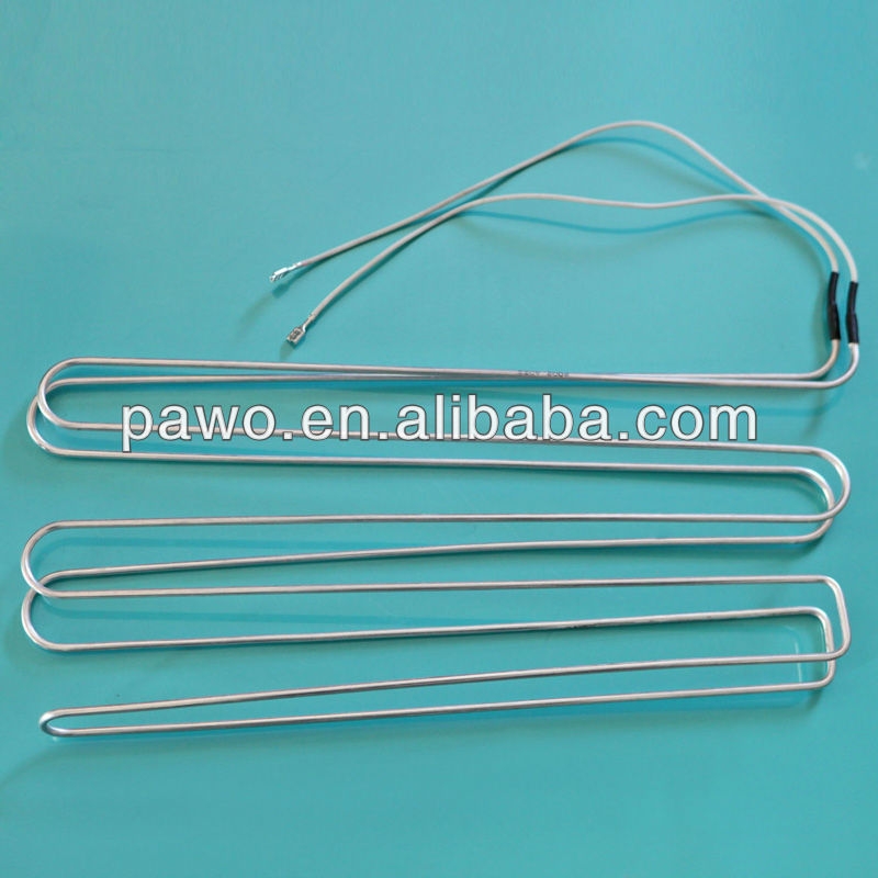 heating element flexible installing TUV Certified 6.35mm Heating Element AL Stoves for Evaporator