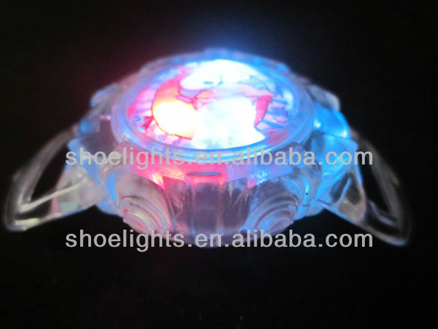 cheap led flash watch light for child shoes