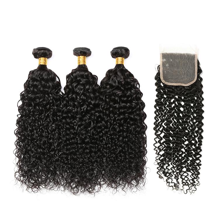 Bestselling Virgin Human Hair Brazilian Hair Closure Body Wave Free Sample Kinky Curly Bundles, N/a