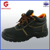 High quality steel toe safety shoes with CE certificate-SS007