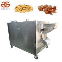 High Quality Red Pepper Chili Sesame Tea Soya Bean Roaster Rice Cashew Barley Peanut Flax Seeds Nuts Roasting Machine Price