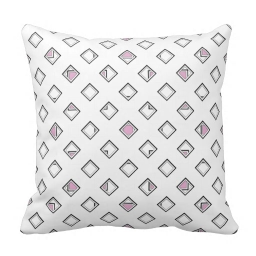 Printed Pillow Cases Artsy Pattern Classy Pink Pearl Pillow Case (Size: 45x45cm) Free Shipping