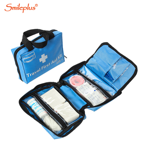 43PCS Blue Home Medium non-woven pad First Aid Kit