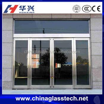 Ceccc Thermal Break White Color Aluminum Frame Glass Panel Interior