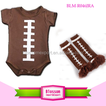 177e93927c2 Infant Baby Brown Romper America Football Adults Baby Rompers With Football  Legwarmers Set Made In China - Buy Newborn Baby Clothes Romper