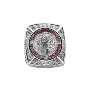 Custom stainless steel fashion football baseball championship college graduation signet rings for men