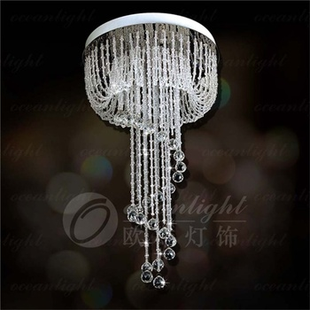 Hanging crystal l& home decor crystal l&s stairs pendant light crystal l& OM932 & Hanging Crystal Lamp Home Decor Crystal Lamps Stairs Pendant Light ...