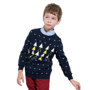 OEM Knitted Cotton Cardigan Child Kids Boys Sweater