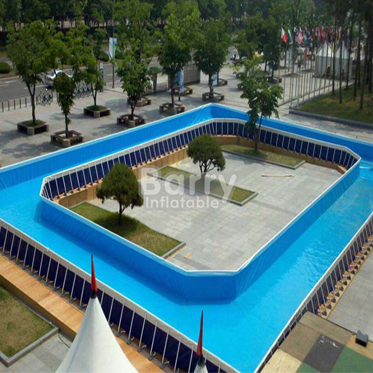 2017 hot sale Portable metal frame pool, 1.2 m 1.5m for kids and adults, custom ultra large pool
