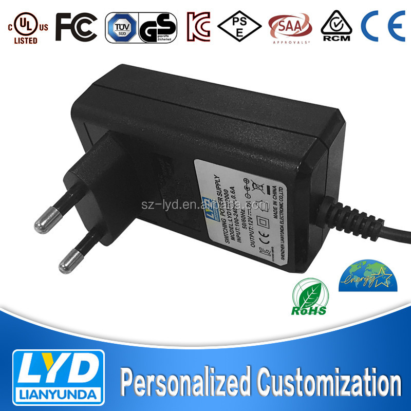 Best quality Switch Power Adapter 12V 2A power supply 24w transformer with ul cul ce