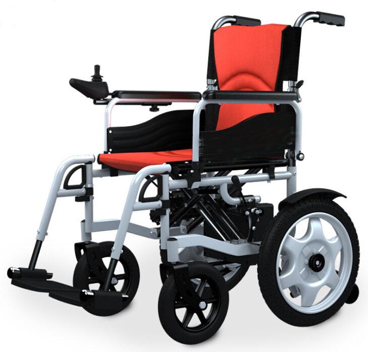 Pliage électrique fauteuils roulants portable fauteuils