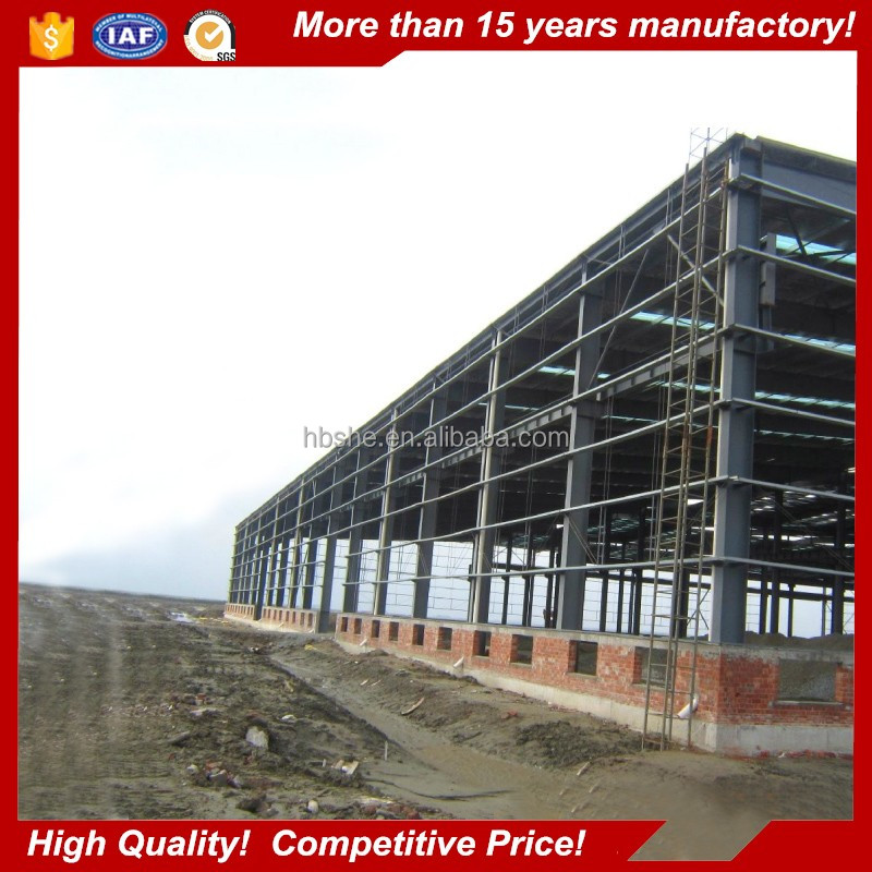 low cost construction company steel structure fabrication and installation