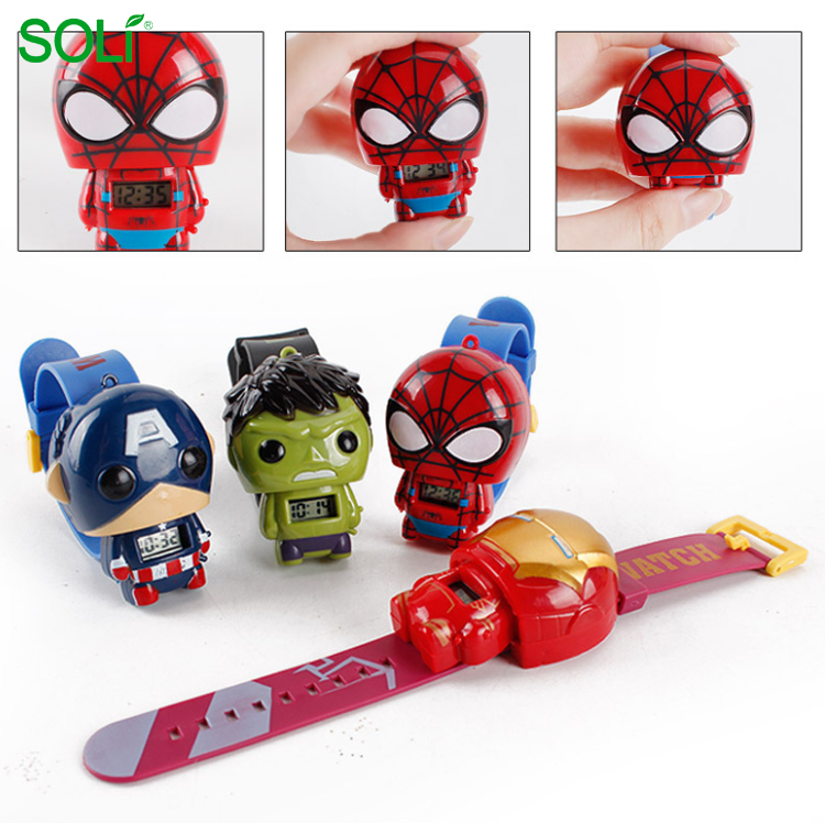 Watch Cartoon characters doll deformation toys