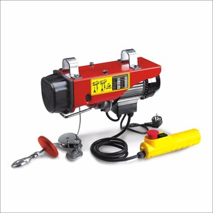 lifting machine 250kg micro electric rope hoist