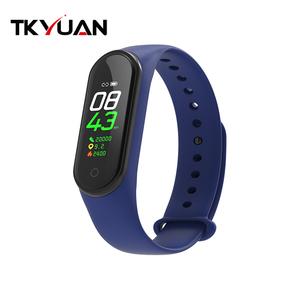 Image of TKYUAN M4 Fitness Tracker Smart Bracelet Heart Rate Monitor Waterproof Smart Band Wristbands M4 PK Mi Band 4 3