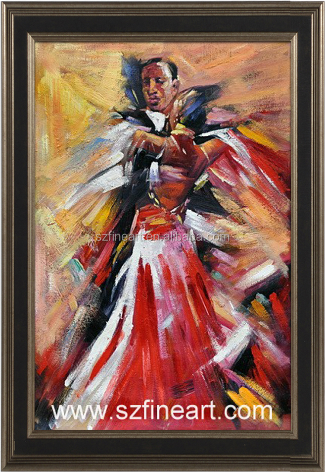 Best seller Latin Dance couple Painting of Modern style with European taste