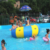 High quality inflatable sea water park trampoline sports for swimming pool