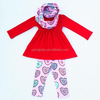 Yiying Latest Fashion Design Girls Valentine S Day Clothes Custom